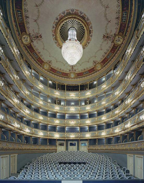 David Leventi - Estates Theatre, Prague, Czech Republic - 3 sizes, $10,600-$31,500, Fujicolor Crystal Archive Print Mounted on Archival Substrate, Framed in White with Plexiglass,  - Bau-Xi Gallery