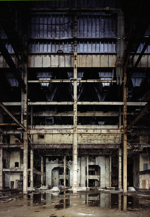 Dan Dubowitz - Behemoth, Toronto Hearn from Wastelands, Archival Pigment Print Mounted on Archival Substrate, Framed in White with Plexiglass,  - Bau-Xi Gallery