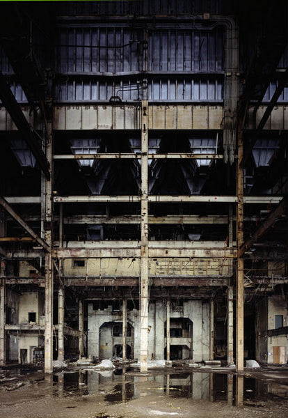Dan Dubowitz - Behemoth, Toronto Hearn from Wastelands - 53x36 in. - $8,500, Archival Pigment Print Mounted on Archival Substrate, Framed in White with Plexiglass,  - Bau-Xi Gallery