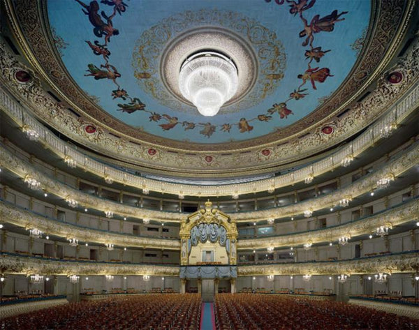 David Leventi - Mariinsky Theatre, St. Petersburg, Russia, Fujicolor Crystal Archive Print Mounted on Archival Substrate, Framed in White with Plexiglass,  - Bau-Xi Gallery
