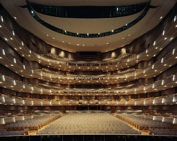David Leventi - Four Seasons Centre for the Performing Arts, Toronto - 3 sizes, $10,600-$31,500, Fujicolor Crystal Archive Print Mounted on Archival Substrate, Framed in White with Plexiglass,  - Bau-Xi Gallery