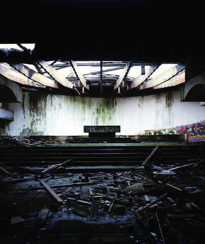 Altar, St. Peter's Seminary, Cardross, Scotland - 30x25 in. - $3,900