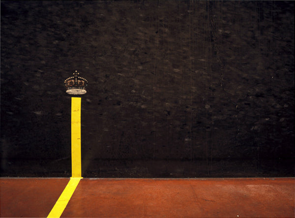 Elliott Wilcox - Real Tennis 16 - 3 sizes, $2,600-$10,000, Chromogenic Print Mounted to Archival Substrate, Framed in White with Non-Reflective Plexiglass,  - Bau-Xi Gallery