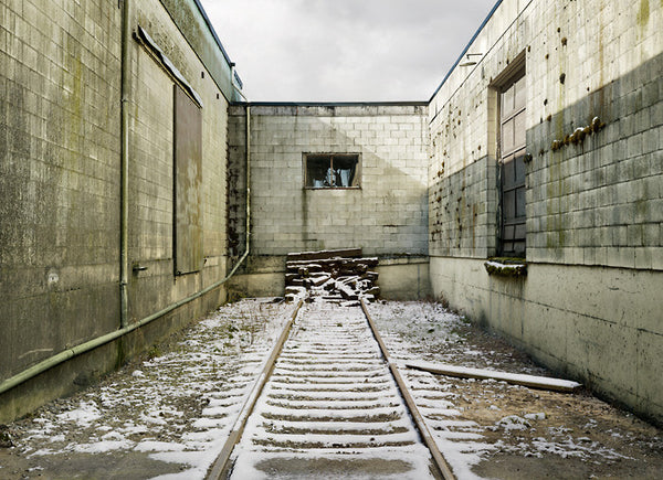 Anthony Redpath Artwork | Highly detailed, monochromatic composite photographs of coastal and industrial architecture.