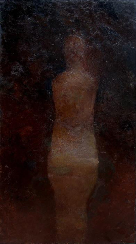 Hugh Mackenzie - Solitary, Oil on Canvas, Framed,  - Bau-Xi Gallery