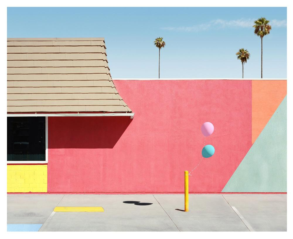 George Byrne - Santa Clarita - 2 sizes, $2,500-$6,000, Archival Pigment Print on Archival Substrate, Framed in White,  - Bau-Xi Gallery