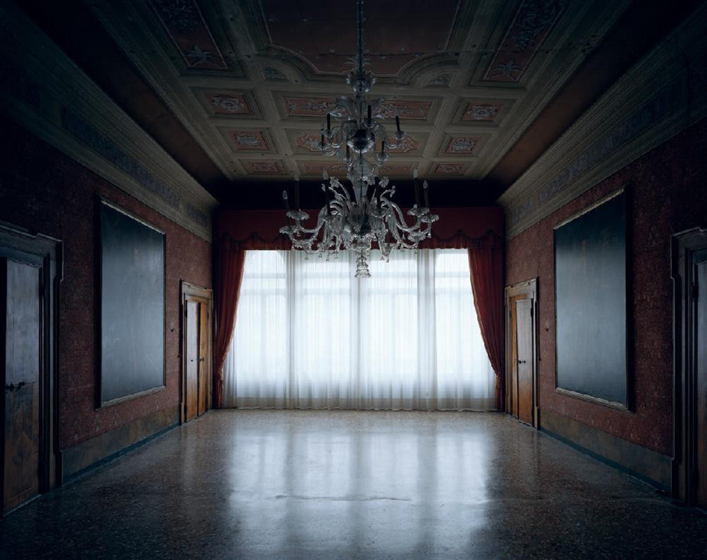 David Leventi - Palazzo Benzon I, Fujicolor Crystal Archive Print Mounted on Archival Substrate, Framed in White with Plexiglass,  - Bau-Xi Gallery
