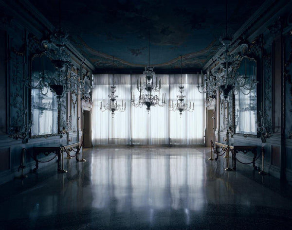 David Leventi - Palazzo Pisani Moretta - 3 sizes, $10,600-$31,500, Fujicolor Crystal Archive Print Mounted on Archival Substrate, Framed in White with Plexiglass,  - Bau-Xi Gallery