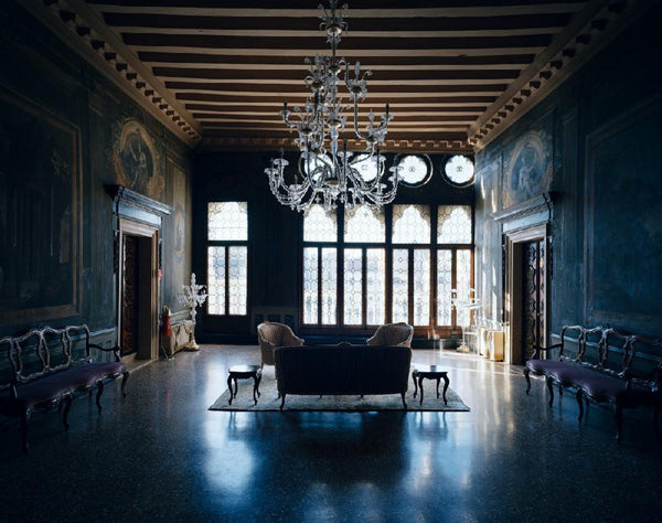 David Leventi - Palazzo Sagredo, Fujicolor Crystal Archive Print Mounted on Archival Substrate, Framed in White with Plexiglass,  - Bau-Xi Gallery