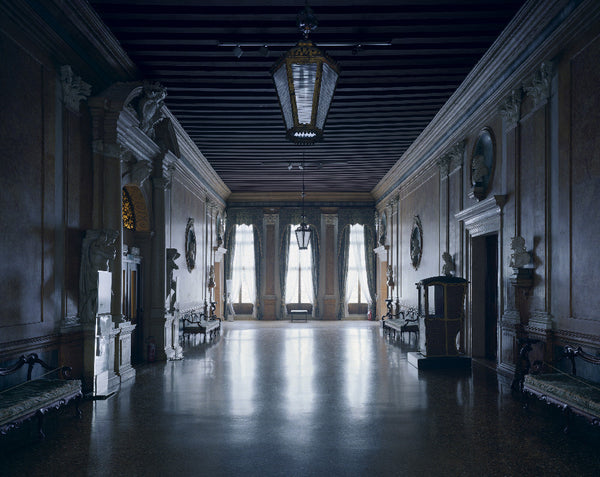 David Leventi - Palazzo Rezzonico - 3 sizes, $10,600-$31,500, Fujicolor Crystal Archive Print Mounted on Archival Substrate, Framed in White with Plexiglass,  - Bau-Xi Gallery