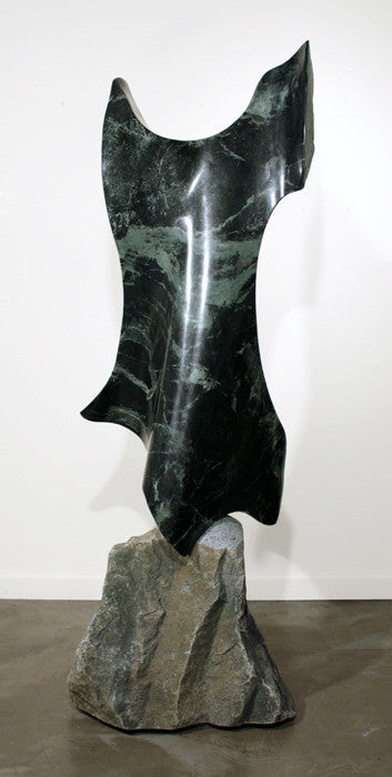 Will Robinson - Little Green Dress, Green Granite, Free Standing,  - Bau-Xi Gallery
