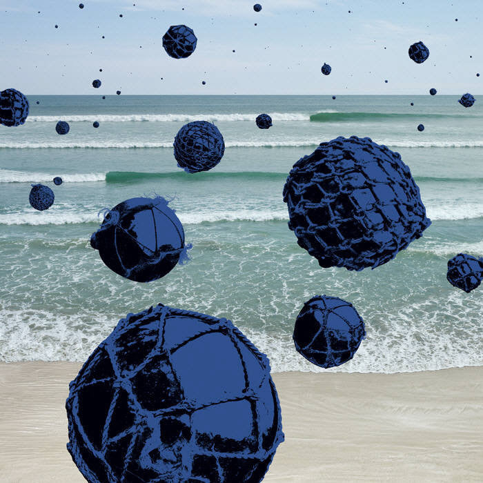 Anthony Redpath - Long Beach Balls - 36x36 in. - $4,900, Chromogenic Print Mounted to Archival Substrate, Framed in Black,  - Bau-Xi Gallery