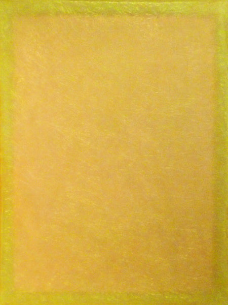 Tom Burrows - Yellow/Yellow Diptych 1, Polymer Resin, Unframed,  - Bau-Xi Gallery
