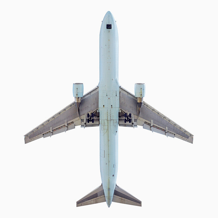 Jeffrey Milstein - Air Canada Boeing 767-300 - Available in 2 sizes, Archival Inkjet Print Mounted on Archival Substrate, Framed in White with Plexiglass,  - Bau-Xi Gallery