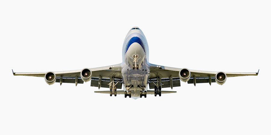 Jeffrey Milstein - China Airlines Boeing 747-400 (Front View) - Available in 4 sizes, Archival Inkjet Print Mounted on Archival Substrate, Framed in White with Plexiglass,  - Bau-Xi Gallery