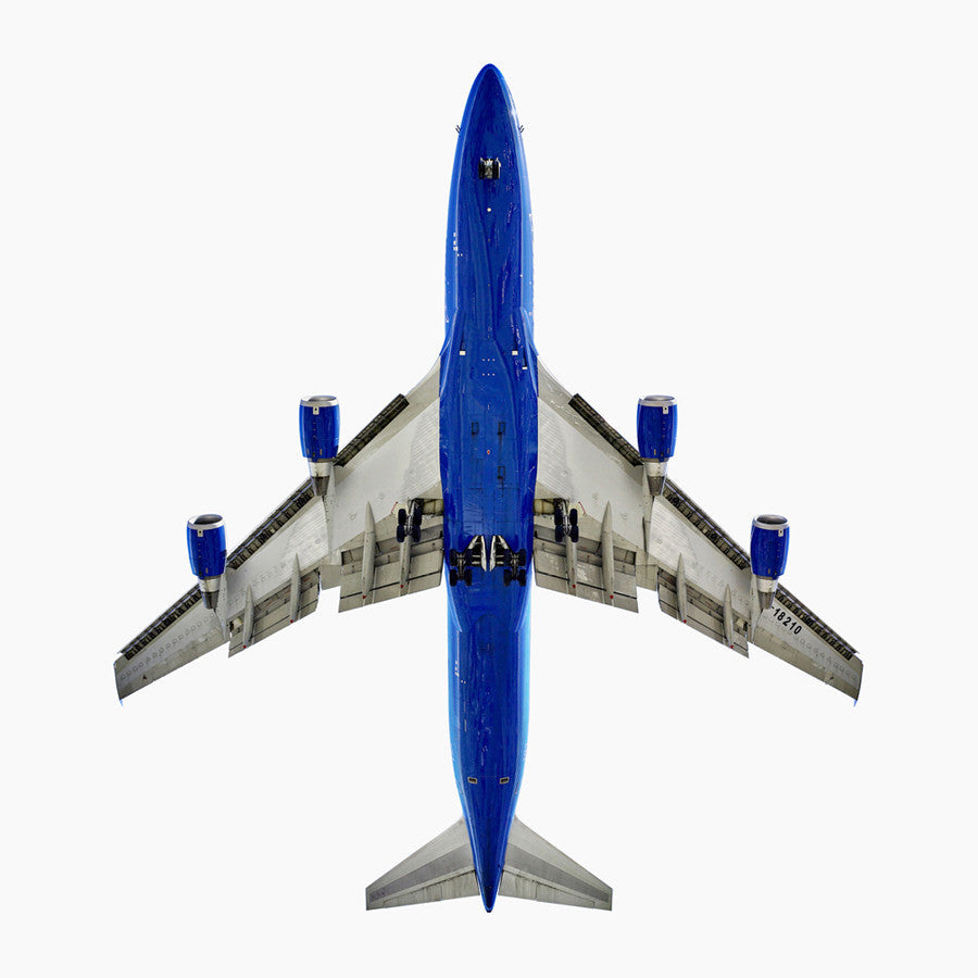 Jeffrey Milstein - China Airlines Boeing 747-400 - Available in 2 sizes, Archival Inkjet Print Mounted on Archival Substrate, Framed in White with Plexiglass,  - Bau-Xi Gallery
