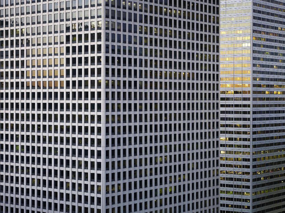 Michael Wolf - Transparent City 02, Chromogenic Print Mounted to Archival Substrate, Framed in Black with Plexiglass,  - Bau-Xi Gallery