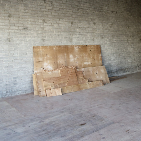 Plywood - Pape and Aldwych - 36x36 in. - $3,100