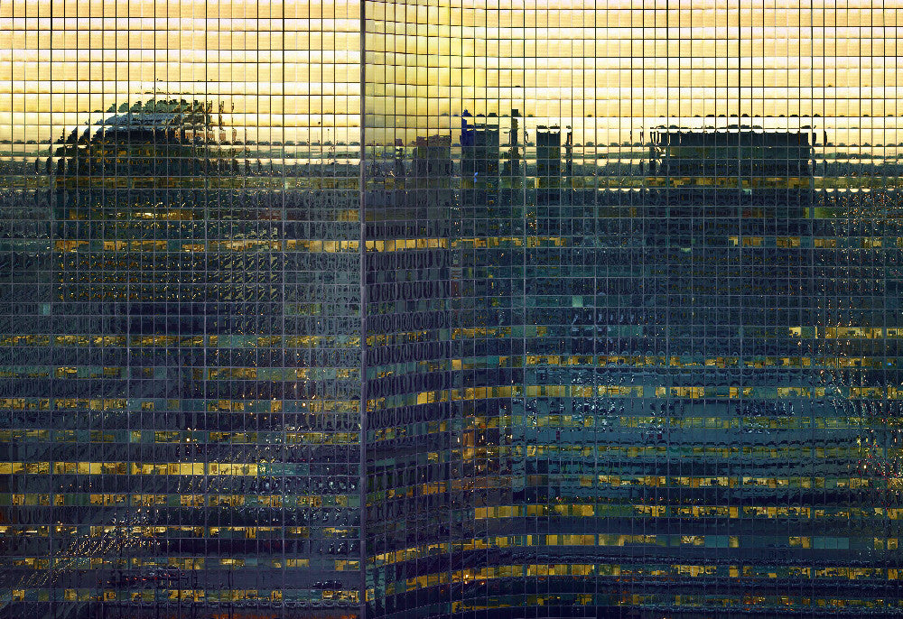 Michael Wolf - Transparent City 73, Chromogenic Print Mounted to Archival Substrate, Framed in White with Non-Reflective Plexiglass,  - Bau-Xi Gallery