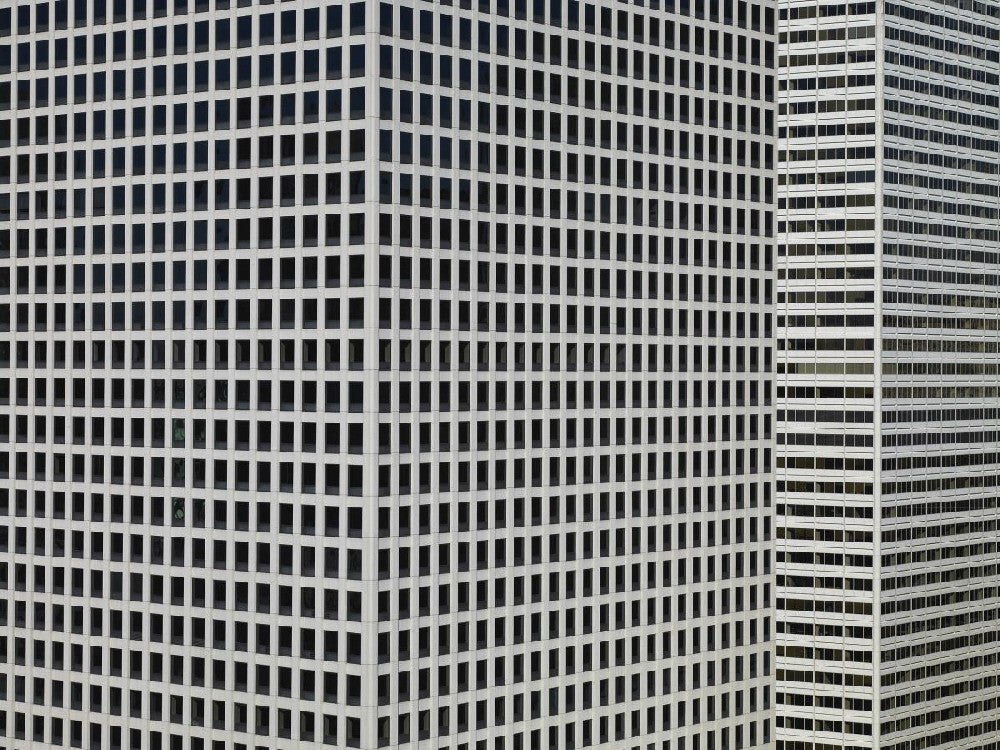 Michael Wolf - Transparent City 12, Chromogenic Print Mounted to Archival Substrate, Framed in Black with Plexiglass,  - Bau-Xi Gallery
