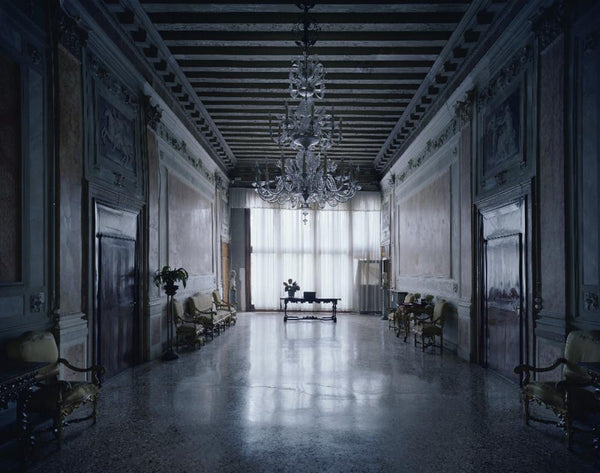 David Leventi - Palazzo Contarini Corfu, Fujicolor Crystal Archive Print Mounted on Archival Substrate, Framed in White with Plexiglass,  - Bau-Xi Gallery