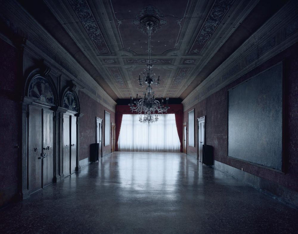 David Leventi - Palazzo Benzon II, Fujicolor Crystal Archive Print Mounted on Archival Substrate, Framed in White with Plexiglass,  - Bau-Xi Gallery