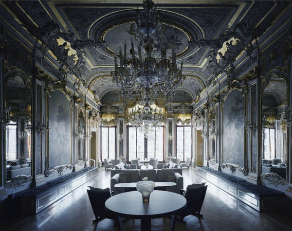 David Leventi - Palazzo Papadopoli - 3 sizes, $10,600-$31,500, Fujicolor Crystal Archive Print Mounted on Archival Substrate, Framed in White with Plexiglass,  - Bau-Xi Gallery