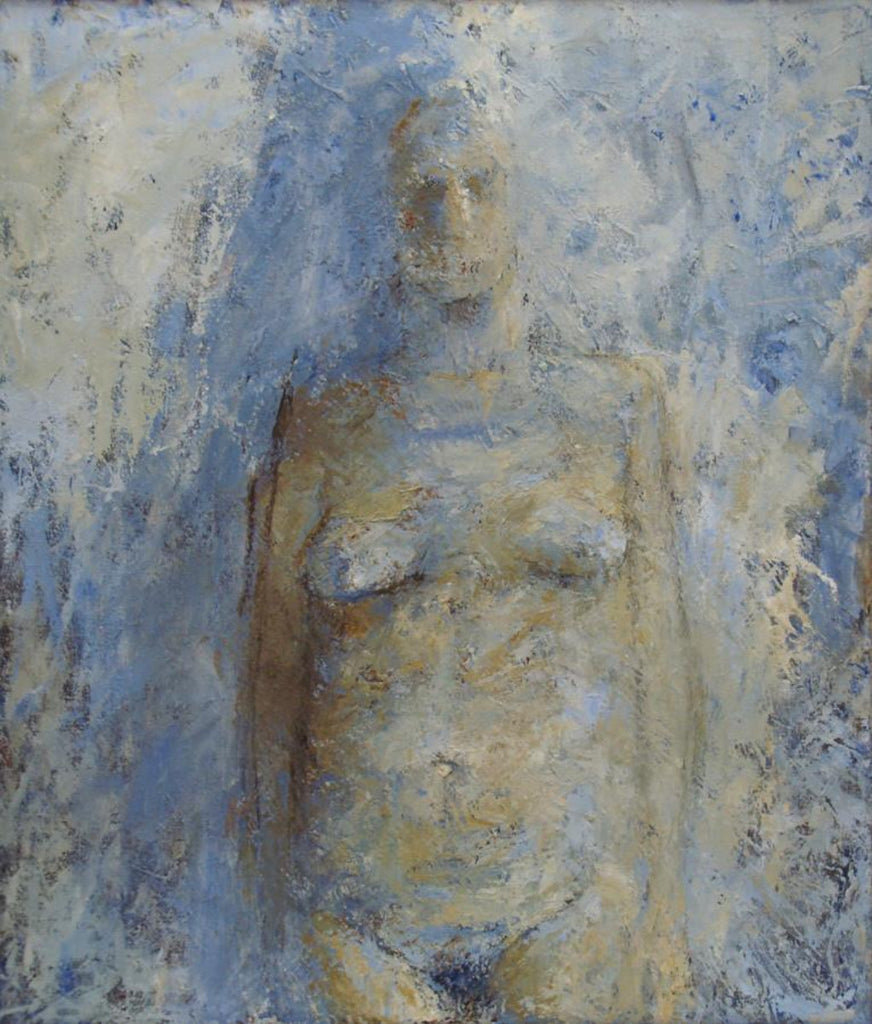 Hugh Mackenzie - The Bride, Oil on Canvas, Framed,  - Bau-Xi Gallery