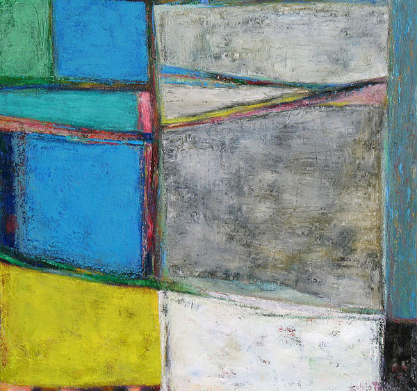 Sylvia Tait - A Season of Connections, Oil on Canvas, Unframed,  - Bau-Xi Gallery