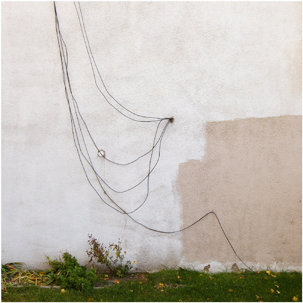 Chris Shepherd - Wire Wall - Danforth West of Pape, Toronto, Chromogenic Print Mounted to Archival Substrate, Framed in White with Glass,  - Bau-Xi Gallery
