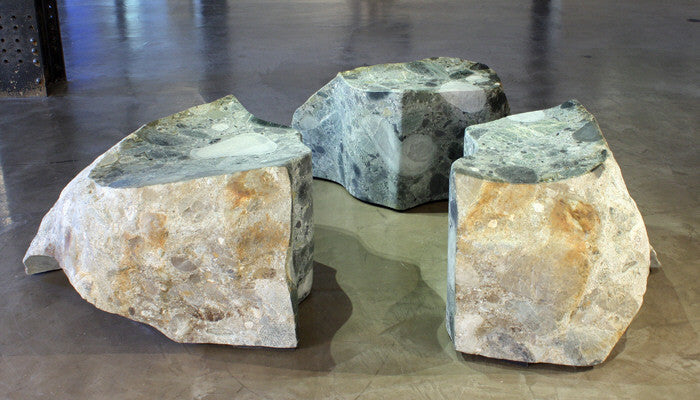 Will Robinson - Triangulation, Stone, Free Standing,  - Bau-Xi Gallery