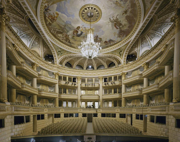 David Leventi - Opera National de Bordeaux, Bordeaux, France - 3 sizes, $10,600-$31,500, Fujicolor Crystal Archive Print Mounted on Archival Substrate, Framed in White with Plexiglass,  - Bau-Xi Gallery