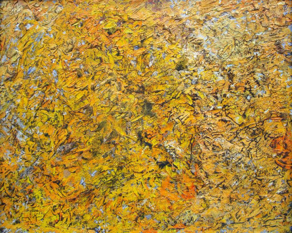 Hugh Mackenzie - Topography of Autumn, Oil on Panel, Framed,  - Bau-Xi Gallery