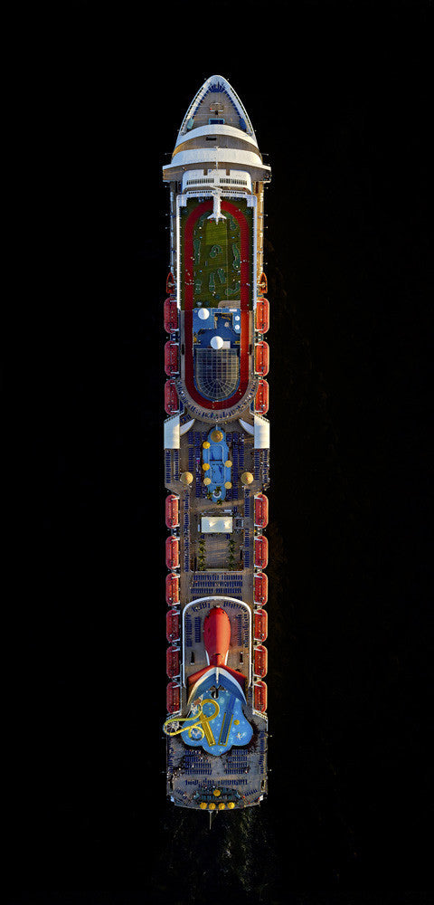Jeffrey Milstein - Carnival Sensation 01, Archival Inkjet Print Mounted on Archival Substrate, Framed in White with Plexiglass,  - Bau-Xi Gallery