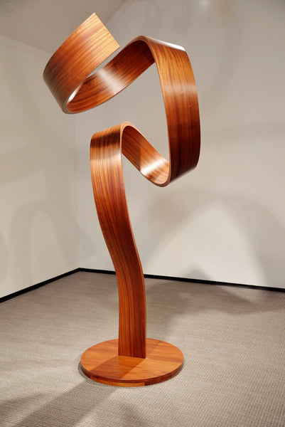 Paul Vexler - New Twist, Wood, Free Standing,  - Bau-Xi Gallery