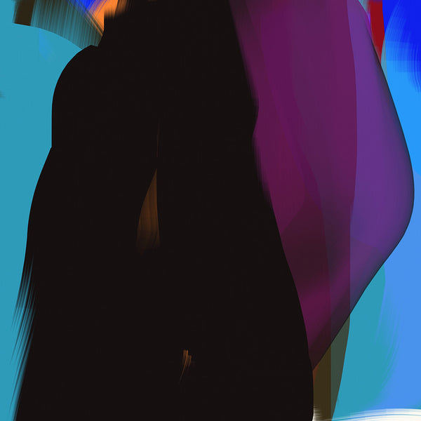 Anda Kubis - Spirit, Digital Image on Canvas, Unframed,  - Bau-Xi Gallery