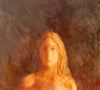 Hugh Mackenzie - Portrait of a Young Woman, Egg Tempera on Panel, Framed,  - Bau-Xi Gallery