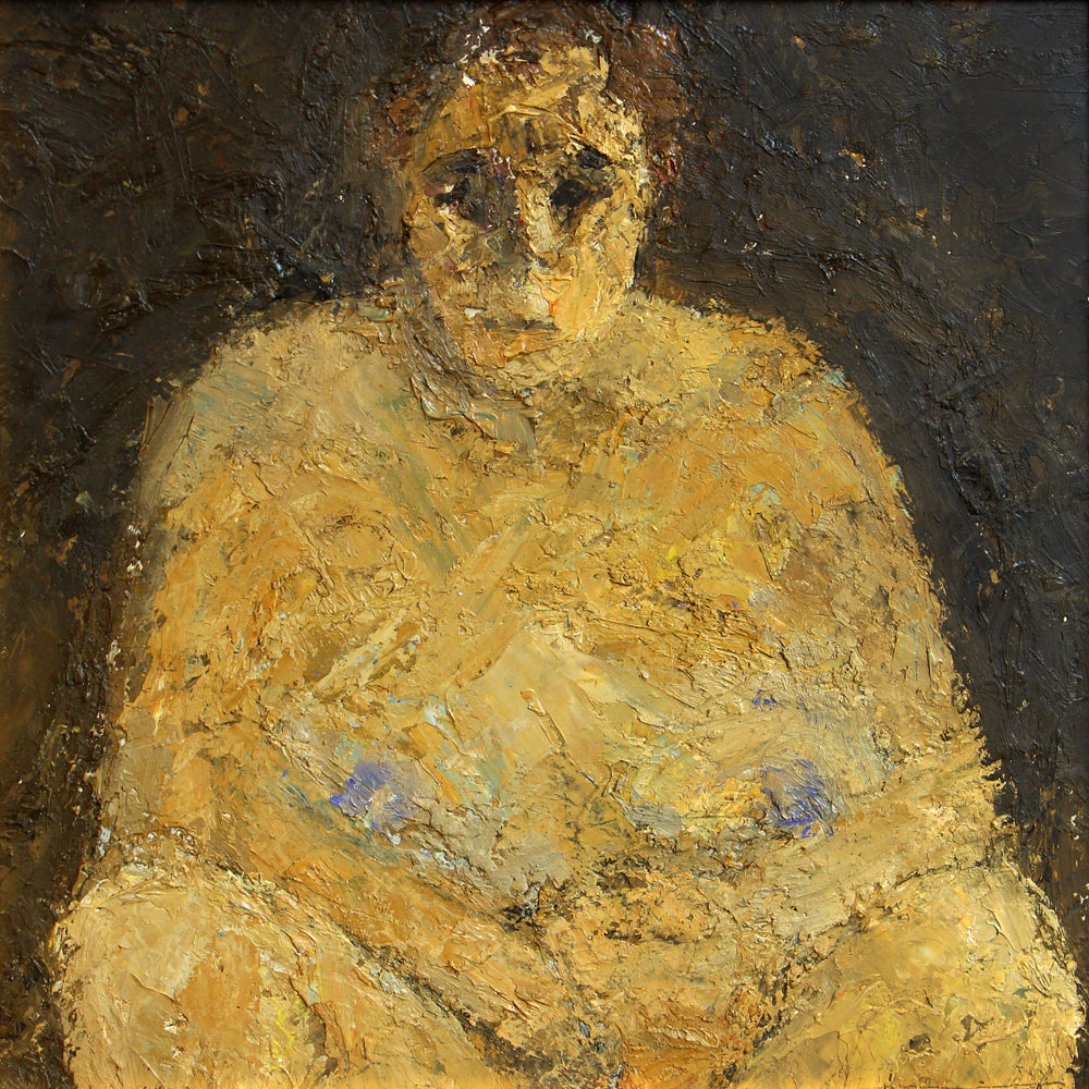 Hugh Mackenzie - Herself, Oil on Canvas, Framed,  - Bau-Xi Gallery