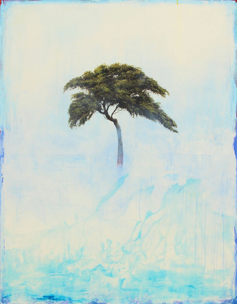 Robert Marchessault - The Water Tree, Oil & acrylic on canvas, Unframed,  - Bau-Xi Gallery