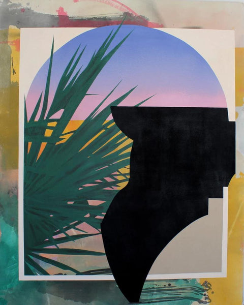 Kathryn Macnaughton - Afterglow, Acrylic on Canvas, Unframed,  - Bau-Xi Gallery