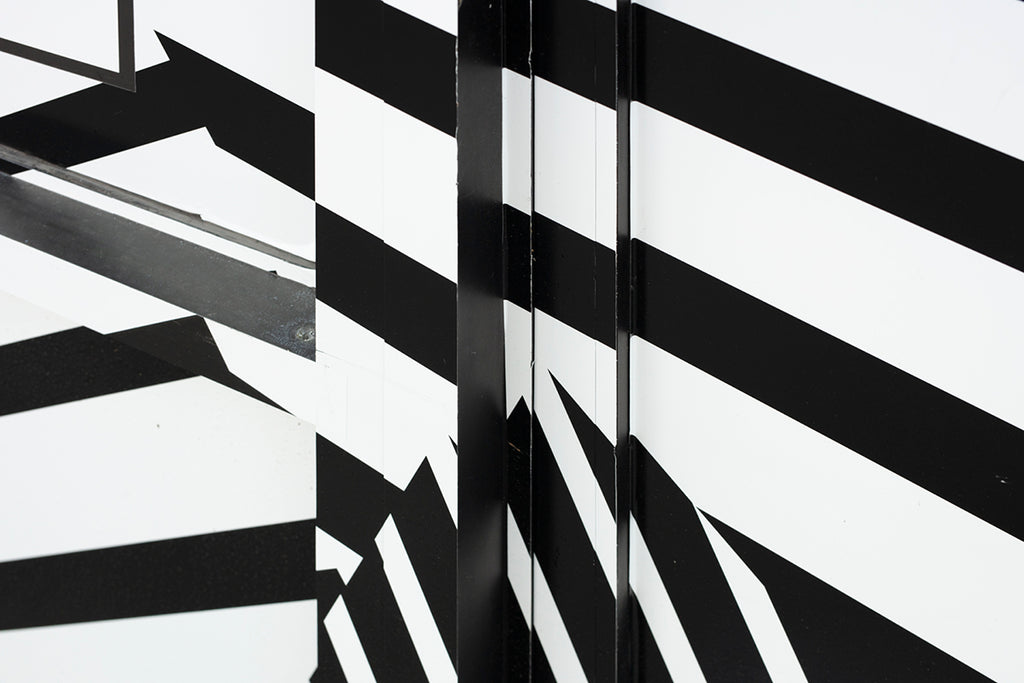 Chris Shepherd Artwork | Geometric, sometimes monochromatic, close-crop photographs of architecture and urban spaces.