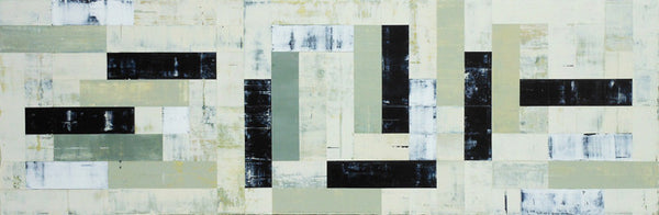 Gordon Wiens - Composition 1, Acrylic on Canvas, Unframed,  - Bau-Xi Gallery