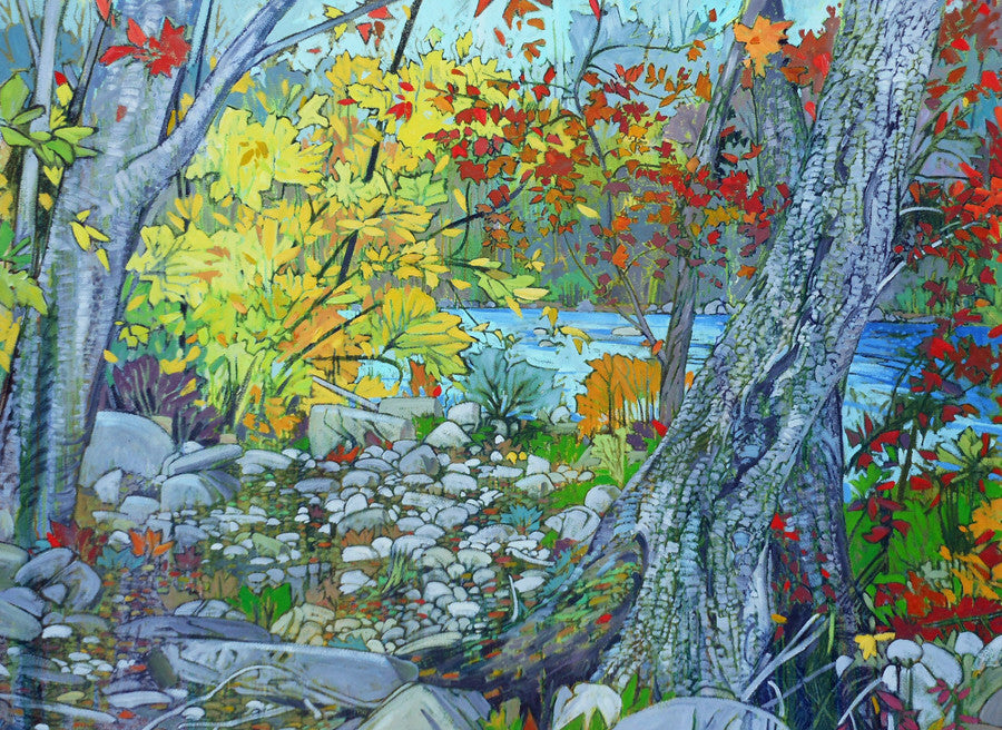 Ted Godwin Artwork | Realist and abstract expressionist paintings of the Canadian landscape.