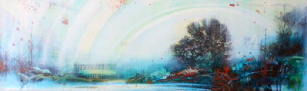 Tracey Tarling - In the Remembering I Saw Oceans of Light, Mixed Media on Panel, Unframed,  - Bau-Xi Gallery