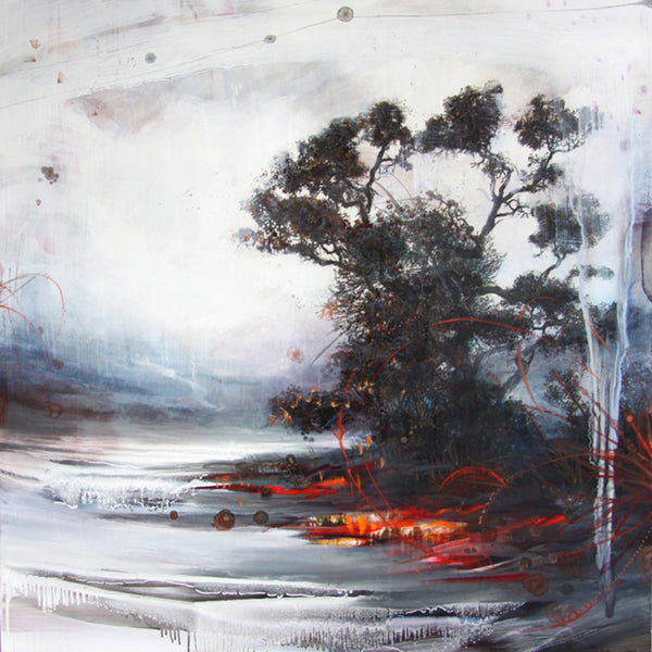Tracey Tarling - Nature of Realities, Mixed Media on Panel, Unframed,  - Bau-Xi Gallery