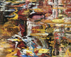 David T. Alexander - To the Right of the Start, Acrylic on Canvas, Unframed,  - Bau-Xi Gallery