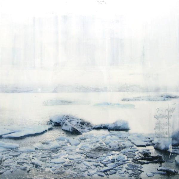 Steven Nederveen - Sea Ice 2, Acrylic on Panel with Resin, Unframed,  - Bau-Xi Gallery