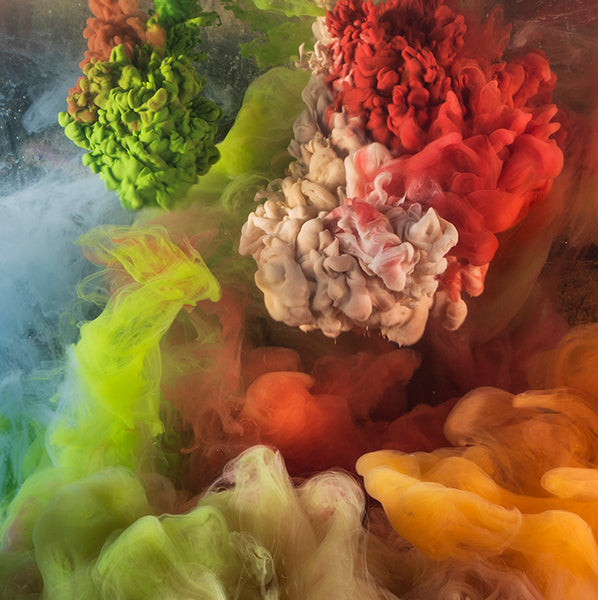 Kim Keever - Abstract 42315 - 2 SIZES, $7,000-$9,600, Archival Pigment Print Mounted on Archival Substrate, Framed in White with Plexiglass,  - Bau-Xi Gallery