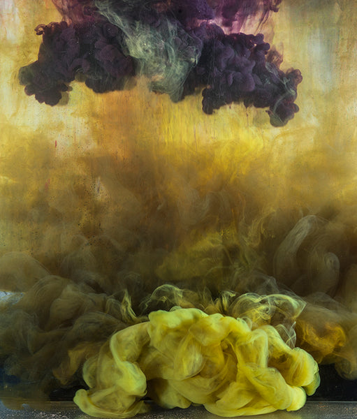 Kim Keever - Abstract 44273 - 2 SIZES, $6,300-$9,100, Archival Pigment Print Mounted on Archival Substrate, Framed in White with Plexiglass,  - Bau-Xi Gallery