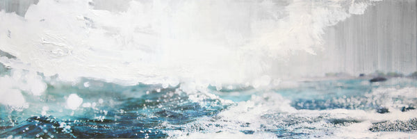 Steven Nederveen - Sea Sparkle, Mixed Media on Panel, Unframed,  - Bau-Xi Gallery